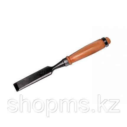 Стамеска с овальной деревянной ручкой 6 мм, фото 2