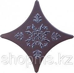 Керамическая плитка GRACIA Stella brown border 03 (110*110)