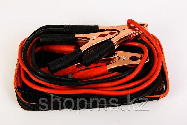 Провода стартовые, 200 А, 2,3 м,  сумка на молнии// STELS, фото 2