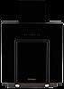 Вытяжка  KUPPERSBERG F 660 черное стекло/короб черная эмаль