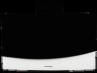 Вытяжка  KUPPERSBERG F W910 B черно-белое стекло/короб черная эмаль