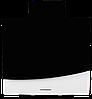 Вытяжка  KUPPERSBERG F W610 B черно-белое стекло/короб черная эмаль