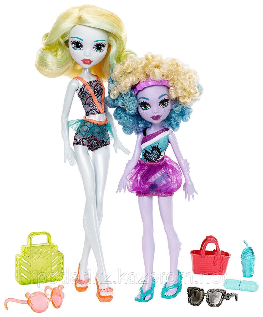 Кукла Монстр Хай Лагуна Блю и её сестра Келпи Блю - фото 1