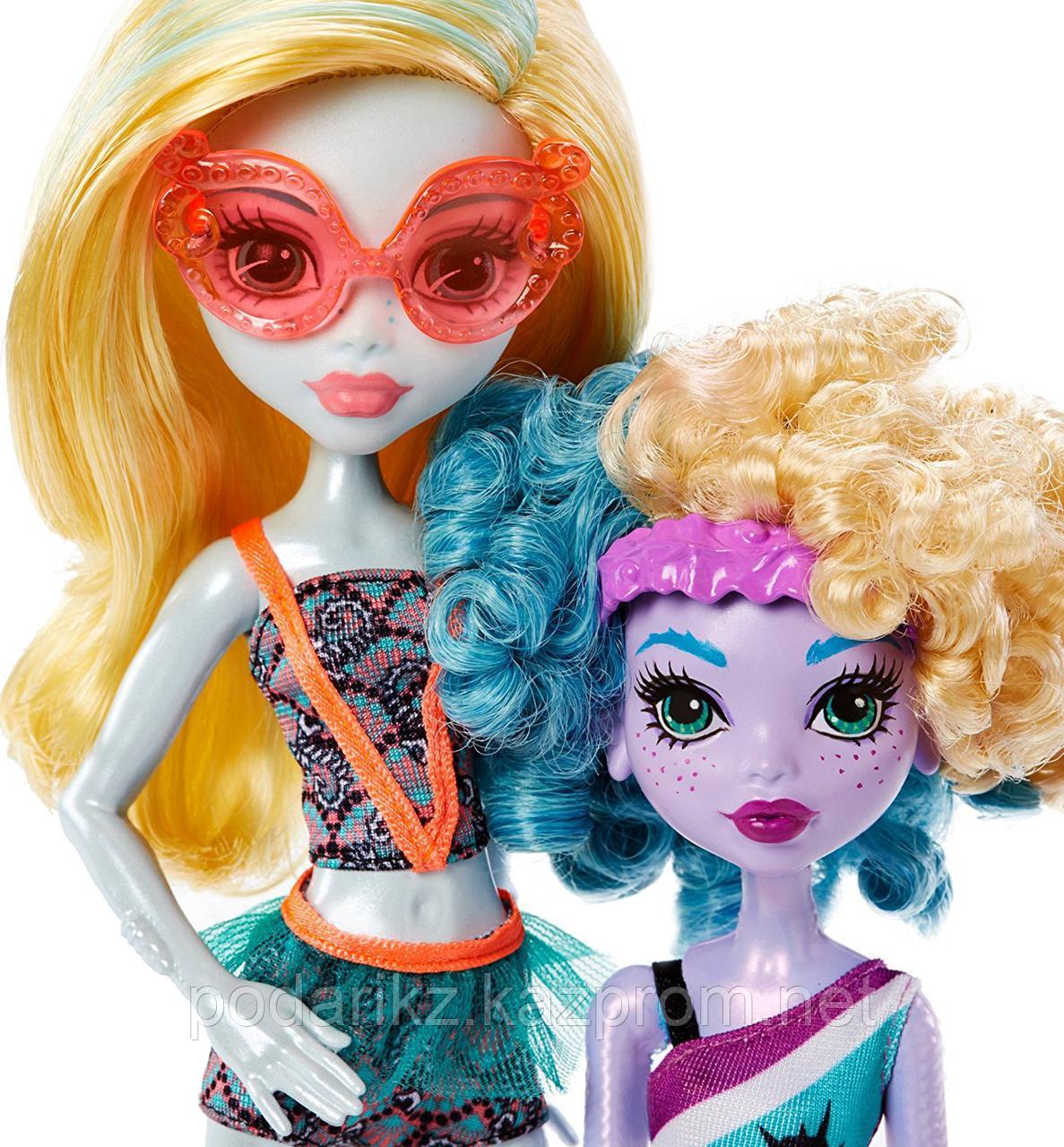 Кукла Монстр Хай Лагуна Блю и её сестра Келпи Блю - фото 2