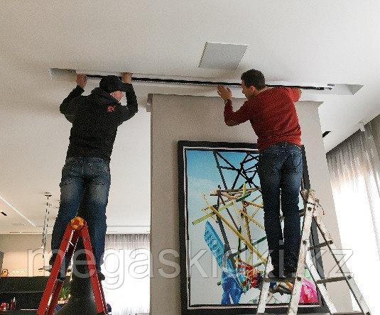 Установка экрана для проектора в Алматы