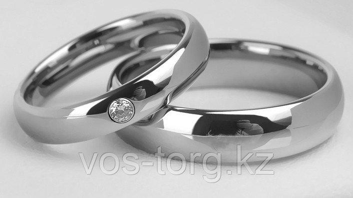 """Кольца обручальные  """"Серебряное совершенство"""""""