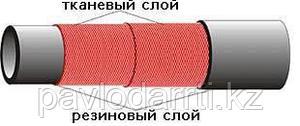 Рукав резиновый напорный с текстильным каркасом (покрытием) Б (I)-10-10-22 ГОСТ 18698-79 (маслобензостойкий)