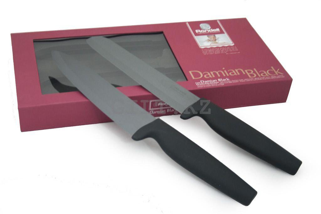 Набор ножей Rondell Damian Black RD-464
