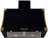 Вытяжка  KUPPERSBERG T 939 ANT Silver/Bronze антрацит/серебра/отделка цвета бронзы