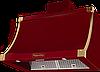 Вытяжка  KUPPERSBERG T 939 BOR Bronze бордовый/отделка цвета бронзы