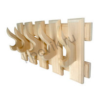 Вешалка «Прямоугольники» с 5 крючками.
