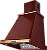 Вытяжка  KUPPERSBERG T 669 BOR Bronze бордовый/отделка цвета бронзы