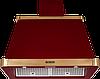 Вытяжка  KUPPERSBERG V 939  BOR  Bronze бордовый/отделка цвета бронзы