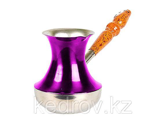 """Турка стальная """"Паулиста"""" 310 мл (в подарочной упаковке) пурпурная"""