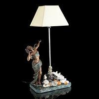 Лампа настольная 'Королева морей', 84 см