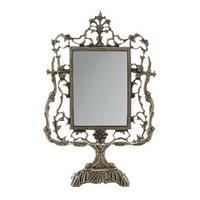 Зеркало настольное на подставке 'Дамасский узор'