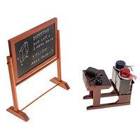 Письменный набор 'Школа' (доска школьная, парта, чернила)