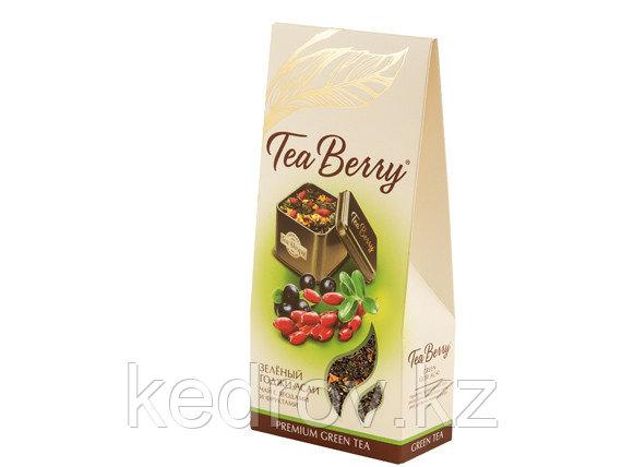 Чай Годжи-асаи, зеленый, 100 гр, картон