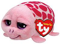 Мягкая игрушка Teeny Tys Черепаха SHUFFLER розовая (11 см), фото 1