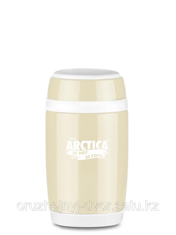 Термос бочонок пищевой тм Арктика 580мл (топлёное молоко)