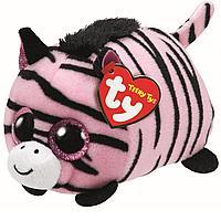 Мягкая игрушка Teeny Tys Зебра PENNIE розовая (11 см), фото 1