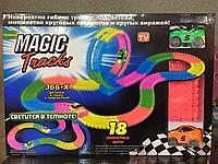 Светящийся гибкий трек Magic tracks 366 дет 2 машинкт.