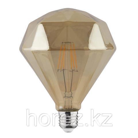 Винтажная светодиодная лампа diamond 6 ватт E27