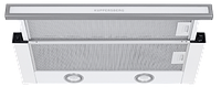 Вытяжка  KUPPERSBERG SLIMLUX II 60 ВGL нержавеющая сталь/белое стекло
