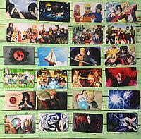 Коллекционная наклейка(стикер) Наруто(Naruto), поштучно