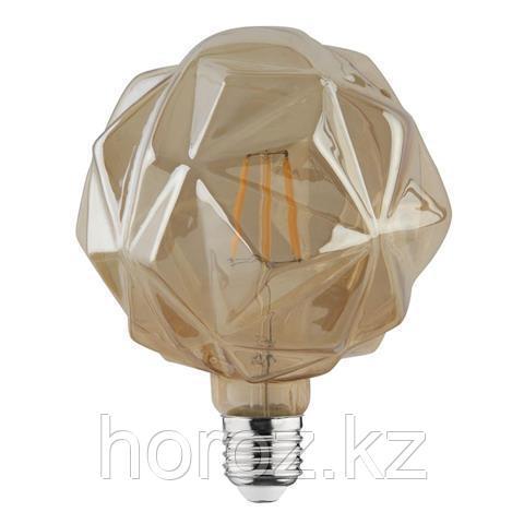 Винтажная светодиодная лампа crystal 6 ватт E27