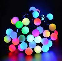 Гирлянда шарики 32 LED ёлочная новогодняя гирлянда