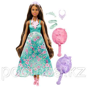 Barbie Принцесса с волшебными волосами