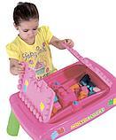 Набор игровой с конструктором (20 элементов) в коробке (розовый), фото 2