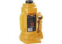 Домкрат гидравлический бутылочный, 10т, подъема 200-385 мм//SPARTA