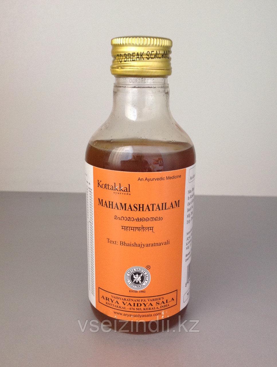 "Масло ""Махамаша Тайлам"" (Mahamasha Thailam) 200 мл, Arya Vaidya Pharmacy"