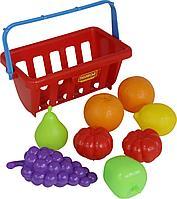 Набор продуктов с корзинкой №2 (9 элементов) (в сеточке)