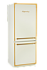 Холодильник Kuppersberg NRS 1857 C Bronze бежевый/фурнитура цвета бронзы