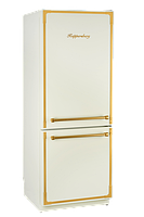 Холодильник Kuppersberg NRS 1857 C Bronze бежевый/фурнитура цвета бронзы, фото 1