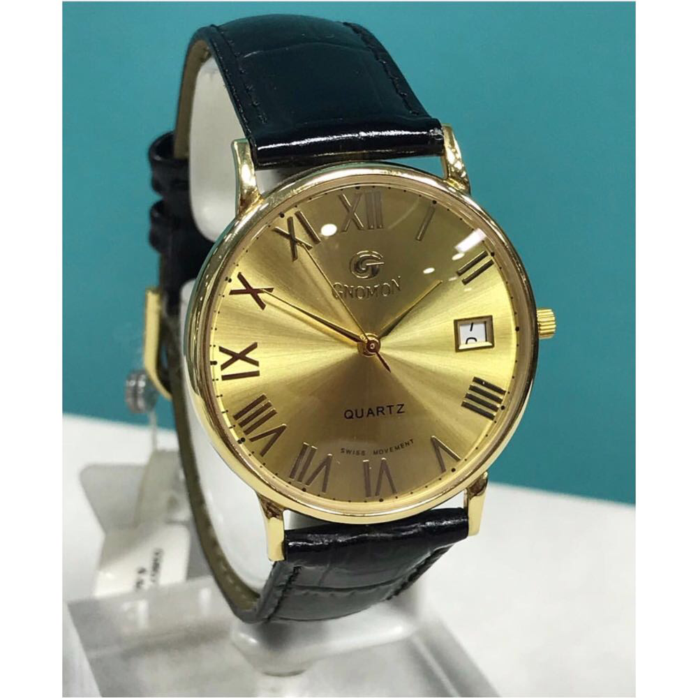 Золотые часы «GNOMON»
