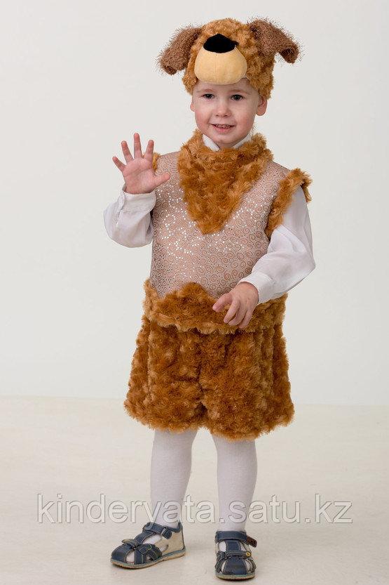 Карнавальный костюм Собачка Билли (маска, безрукавка, шорты) Батик
