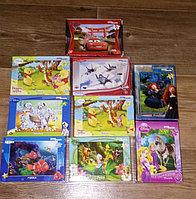 Новогодний набор Пазлов 2х54эл+2х80эл картоные