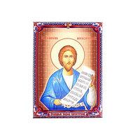 Икона холст 'Праведный Симеон Верхотурский ' на подвесе
