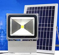 Прожектор с солнечной батареей, 100 Вт, фото 1
