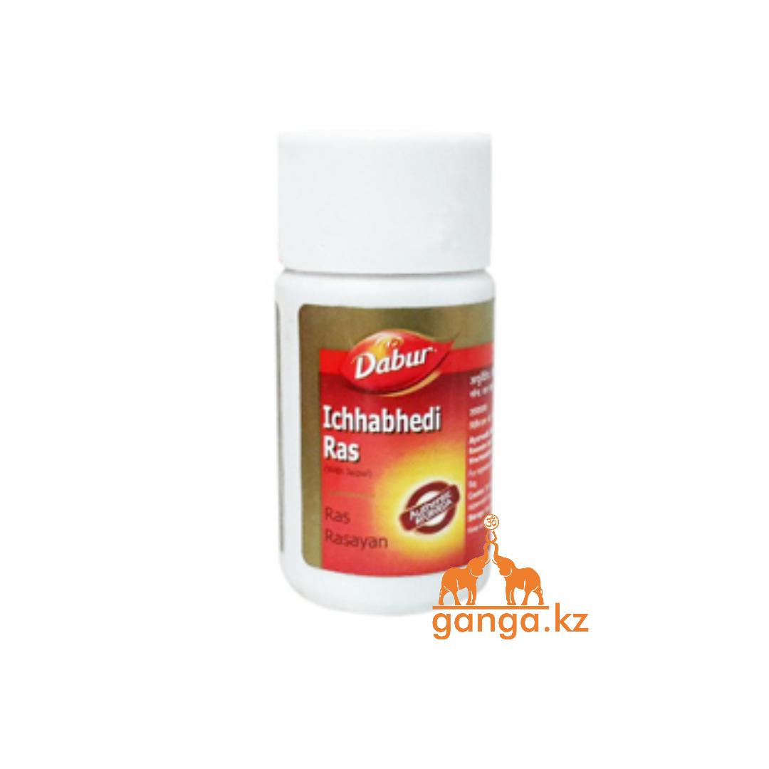 Ичхабеди рас - слабительное для очистки организма (Ichchhabhedi ras DABUR), 40 таб.