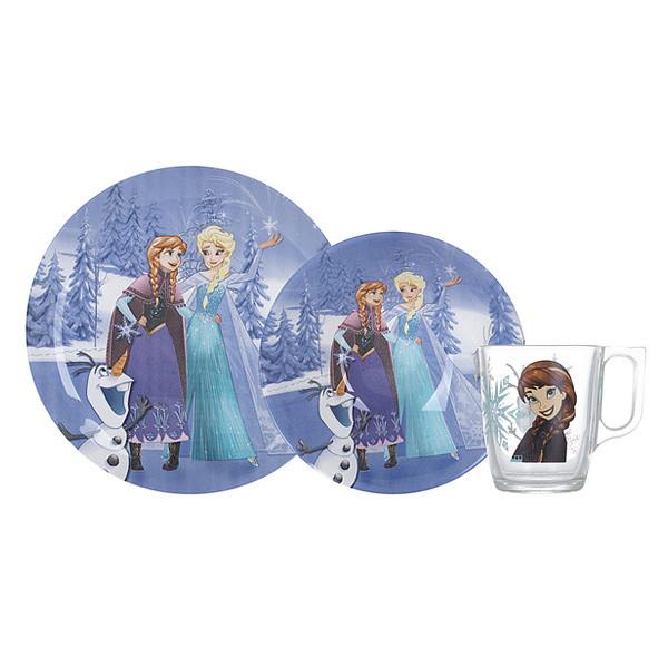 Набор Luminarc Disney Frozen Winter Magic 3 пр.