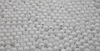 Бусины из акрилового пластика глянцевые. Белые. d-6 м. Creativ 1860