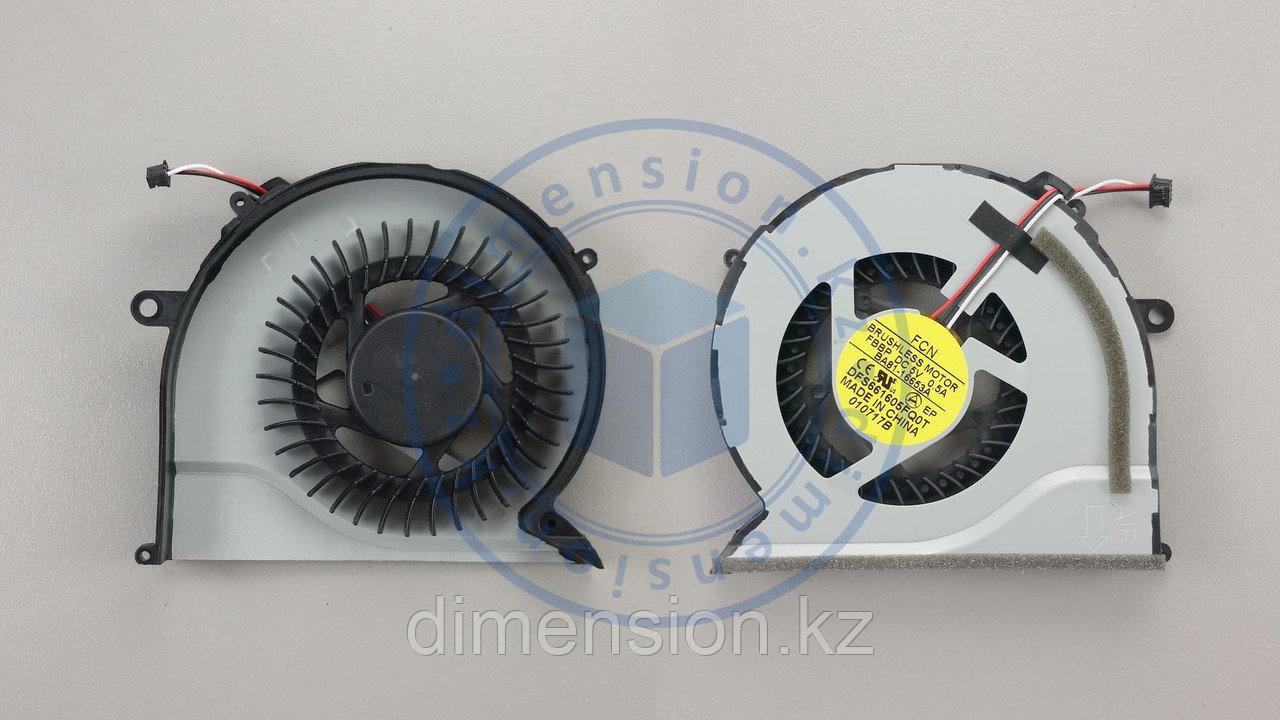 Кулер, вентилятор SAMSUNG NP-550 NP550 NP550P5C NP550P5C-S01 NP550P5C-S02 NP550P7C KSB0805HB-BK2T KSB08