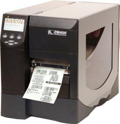Принтер этикеток Zebra ZM400 (термотрансферный)