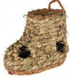 Trixie Травяной тоннель для хомяков и мышей - 18х12 см