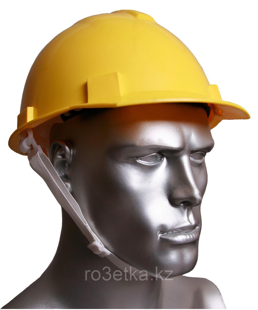 Каска защитная К1 (Буревестник) желтая
